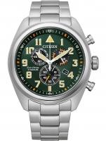 Ceas: Ceas barbatesc Citizen AT2480-81X Eco-Drive  cronograf 43mm 10ATM
