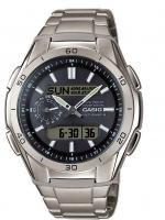 Ceas: Ceas barbatesc Casio WVA-M650TD-1AER Wave Ceptor  44mm 10ATM