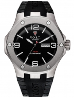 Ceas: Ceas barbatesc V.O.S.T. Germany V100.023.AT.TT.R.B Titanium Automatik 44mm 20ATM