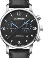 Ceas: Ceas barbatesc Wenger 01.1743.120 Urban Metropolitan Cronograf 44mm 10ATM