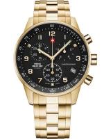 Ceas: Ceas barbatesc Swiss Military Chrono SM34012.12 Cronograf 41mm 5ATM