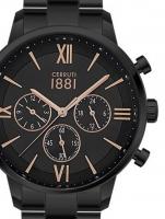 Ceas: Ceas barbatesc Cerruti CRA23408 Denno Cronograf 43mm 10ATM