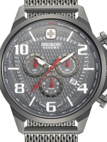 Ceas: Ceas barbatesc Swiss Military Hanowa 06-3328.30.009 Airman Cronograf 45mm 5ATM