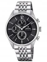 Ceas: Ceas barbatesc Festina F20285/4 Timeless Cronograf  41mm 5ATM
