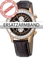 Ceas: Curea de ceas Perigaum Leder P-1310 Flightmaster braun rose Schliesse 20 mm