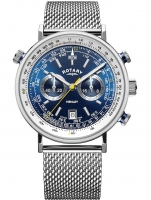 Ceas: Ceas barbatesc Rotary GB05235/05 Henley Cronograf 42mm 5ATM