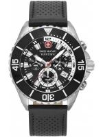 Ceas: Ceas barbatesc Swiss Military Hanowa 06-4341.04.007 Ambassador Cronograf 44mm 10ATM