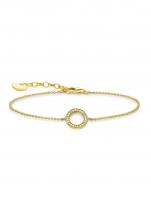 Ceas: Thomas Sabo Armband Kreis A1652-414-14 16-19cm