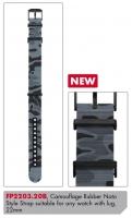 Ceas: Curea de schimb Luminox PU  FP2203.20B [22 mm] Camouflage