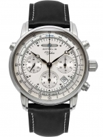 Ceas: Ceas barbatesc Zeppelin 7618-1 ED-1  Automatic Chrono 42mm 5ATM
