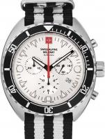 Ceas: Ceas barbatesc Swiss Alpine Military 7066.9632 Turtle Cronograf 44mm 10ATM
