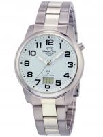 Ceas: Ceas barbatesc Master Time MTGT-10653-40M Radiocontrolat Titan Series  41mm 5ATM