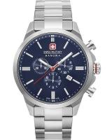 Ceas: Ceas barbatesc Swiss Milirary Hanowa 06-5332.04.003 Cronograf Classic II 45mm 10ATM