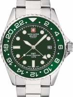Ceas: Swiss Alpine Military 7052.1134 GMT diver 42mm 10ATM