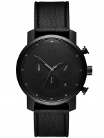 Ceas: MVMT MC02-BLBL Chrono Black Leather 40mm 10ATM