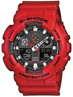 Ceas: Ceas barbatesc Casio G-Shock GA-100B-4AER Analog-Digital 20 ATM 51 mm