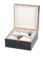 Ceas: Rothenschild Uhren & Schmuckbox RS-5598-6 für 6 Uhren carbon-grau