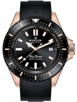 Ceas: Ceas barbatesc Edox 80120-37RNNCA-NIR Skydiver Neptunian