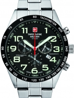 Ceas: Ceas barbatesc Swiss Alpine Military 7047.9137 Chrono 43mm 10ATM