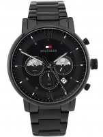 Ceas: Ceas barbatesc Tommy Hilfiger 1710410 Evan Dual Time 44mm 5ATM