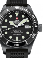 Ceas: Swiss Military SMA34075.05 Diver Automatik 44 mm 50ATM