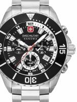 Ceas: Swiss Military Hanowa 06-5341.04.007 Ambassador chronograph 44mm 10ATM