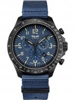 Ceas: Ceas barbatesc Traser H3 109461 P67 Officer Cronograf Blue Nato 46mm 10ATM