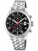 Ceas: Ceas barbatesc Festina F20374/6 Timeless Cronograf 41mm 10ATM
