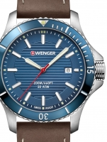 Ceas: Ceas barbatesc Wenger 01.0641.130 Seaforce  43mm 20ATM