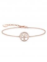 Ceas: Thomas Sabo Armband Tree of Love A1828-416-14 16-19cm