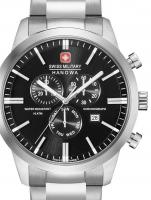 Ceas: Ceas barbatesc Swiss Military Hanowa 06-5308.04.007 Klassik Cronograf 44mm 10ATM