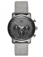 Ceas: Ceas barbatesc MVMT MC02-BBLGR Chrono Monochrome 40mm 5ATM