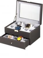 Ceas: Rothenschild Uhrenbox RS-1683-20G für 20 Uhren grey