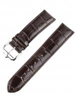 Ceas: Ingersoll Ersatzband [22 mm] braun m. silberner Schließe Ref. 25042