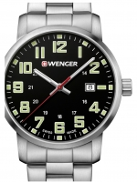 Ceas: Ceas barbatesc Wenger 01.1641.111 Avenue 42mm 10ATM