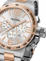 Ceas: Ceas barbatesc TW-Steel CB123 Canteen Bracelet Cronograf 45mm 10ATM
