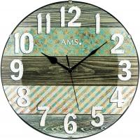 Ceas: AMS 5556 klassische Funkwanduhr  - Serie: AMS Design