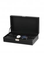 Ceas: Cutie ceas Rothenschild  RS-3513-10BL pentru 10 ceasuri neagra