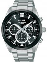 Ceas: Ceas barbatesc Pulsar PT3A95X1 Sport chrono 43mm 10ATM