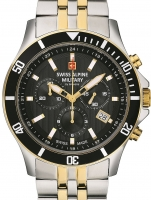 Ceas: Ceas barbatesc Swiss Alpine Military 7022.9147 Cronograf 42mm 10ATM