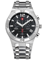 Ceas: Ceas barbatesc Swiss Military SM34015.01 Cronograf 10 ATM, 43 mm