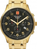 Ceas: Swiss Alpine Military 7084.9117 Chronograph 43mm 10ATM