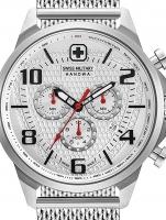 Ceas: Ceas barbatesc Swiss Military Hanowa 06-3328.04.001 Airman Cronograf 45mm 5ATM