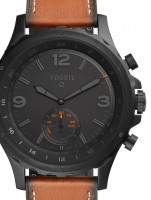 Ceas: Ceas barbatesc Fossil Q FTW1114 Nate Hybrid Smartwatch 50mm 5ATM