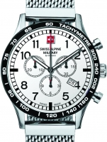 Ceas: Ceas barbatesc Swiss Alpine Military 1746.9132 Chrono 43mm 10ATM