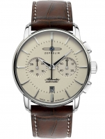 Ceas: Ceas barbatesc Zeppelin 8422-5 Atlantic Automatic Cronograf 42 mm 5ATM