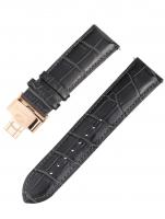 Ceas: Ingersoll Ersatzband [24 mm] grau m. rosé Schließe Ref. 25036