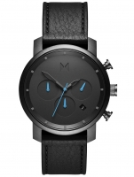 Ceas: Ceas barbatesc MVMT MC02-GUBL Chrono Gunmetal Black 40mm 10ATM