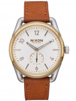 Ceas: Nixon A459-2548 C39 Leather Herren 39mm 10ATM