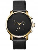 Ceas: Ceas barbatesc MVMT D-MC01-GL Chrono Gold Black  45mm 5ATM